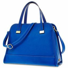 Duro Olowu for jcp Blue Faux Leather Crossbody - jcpenney