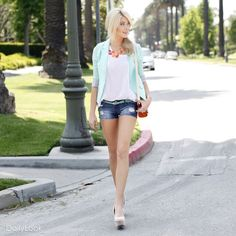 Check out Mint Julip Look by Love Tree and Machine at DailyLook