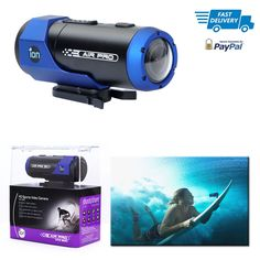 Air Pro Lite Wi-Fi Camera 1080p High Quality Microphone Micro SD Min Class 6 #iON