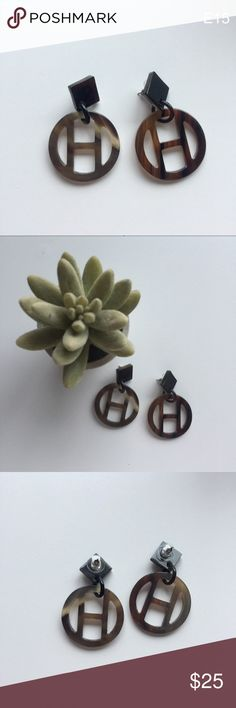 """Handmade Natural Horn Earrings Hoops Women Gift Handmade Natural Horn Earrings Hoops  Earrings length: 2.0""""  All of my jewelry and fashion pieces are handmade, keeping in mind the sustainability to the environment while emphasizing my free spirit. Jewelry Earrings"""