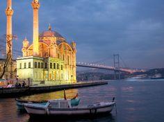 Ortaköy Masjid, Istanbul, Turkey.