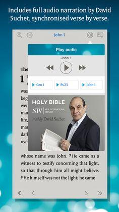 NIV Audio Bible: read by David Suchet by Aimer Media Ltd.