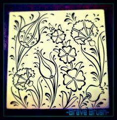 Andi likes Iznik Pattern Turkish Tiles, Tile Art, Pattern Art, Oriental, Traditional, Patterns, Handmade, Gifts, Islamic