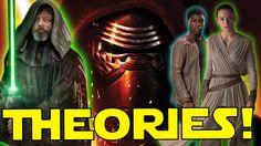 Star Wars Episodes 8 & 9 HUGE THEORIES! Kylo/Rey/Snoke/Finn/DARTH VADER!...