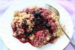 Oatmeal Berry Crumble  low sugar, GF  from Tropical Traditions