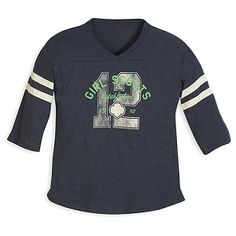 """An oversized baseball tee perfect for anytime you want to be casual and comfortable. Heather blue varsity style with ivory stripes and """"Girl Scouts Established screenprint. Girl Scout Shirts, Girl Scout Shop, Girl Scouts, Baseball Shirts, Scout Store, Girly, Sweatshirts, Long Sleeve, Sweaters"""