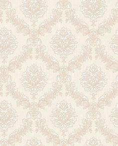 Jacquard Pearl Wallpaper, , large