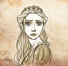 Living Lines Library: Tangled (2010) - Other Characters