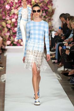 Spring 2015 Trend Report - Runway Spring Fashion Trends 2015 - Harper's BAZAAR - Oscar de la Renta