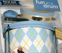 how to place a first act discovery drum set