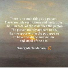 Nisargadatta Maharaj Eastern Philosophy, Spiritual Connection, Saint Quotes, Philosophy Quotes, Affirmation Quotes, Osho, How To Better Yourself, Quotable Quotes, Inner Peace