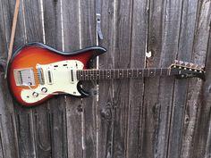 1966 Yamaha SG-2 electric guitar made in Japan MIJ Nippon Gakki Sunburst