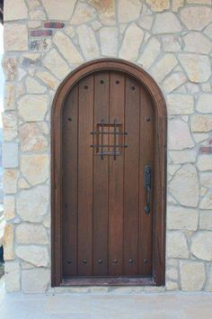 Rustic Medieval Walnut, Hand-Crafted, Custom-Woodworking Modern Entrance Door, Modern Front Door, Modern Entryway, Grand Entrance, Entrance Doors, Barn Doors, Cob House Interior, Interior Doors, Modern Interior