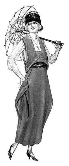 Late 1910s Dress