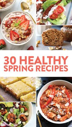 Healthy Recipes to Make This Spring {VIDEO} - Fit Foodie Finds