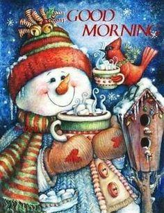 Embroidery Kits, Cross Stitch Embroidery, Modern Christmas Decor, Christmas Decorations, Diamond Paint, Cute Snowman, Snowmen, Snowman Crafts, Theme Noel
