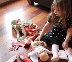Baby Doll Diaper Bags - girl. Inspired.