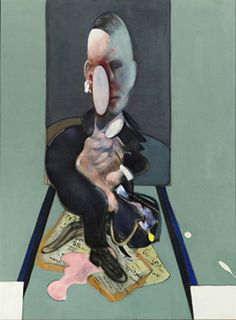 Francis Bacon, Triptych left, 1976.