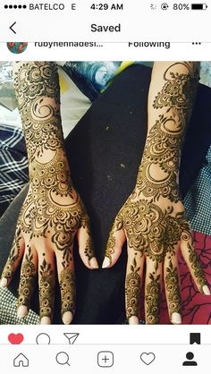 Mehandi Designs Arabic, Wedding Henna Designs, Khafif Mehndi Design, Latest Henna Designs, Indian Henna Designs, Full Hand Mehndi Designs, Henna Art Designs, Mehndi Designs For Girls, Modern Mehndi Designs