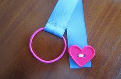 Busy Beehives...: Basic Sewing Skills Ribbon Bookmark