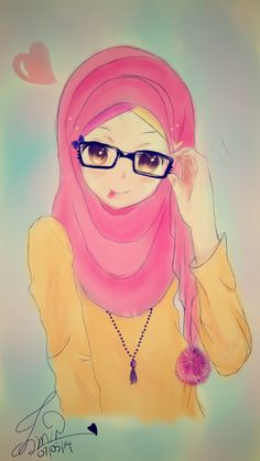 by shizunepija on DeviantArt kawaii muslimah! by shizunepija on DeviantArt Thank you for visiting kawaii muslimah! Hijab Anime, Hijab Drawing, Hijab Cartoon, Islamic Girl, Kawaii, Anime Art Girl, Cute Pictures, Character Design, Character Drawing