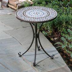 Alfresco Home Alfresco Home Tremiti Mosaic Outdoor Bistro Table
