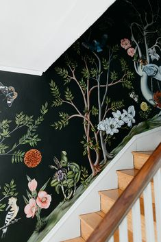 Andrew Everding and Thicket Design on Design*Sponge - Design*Sponge - Wall Design, House Design, Interior And Exterior, Interior Design, House Wall, Art Deco, Decoration, My Dream Home, Wall Murals