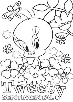printable pictures of birds free printable tweety bird coloring