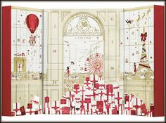 Lancome Beauty Advent Calendar Sneak Peak Inside