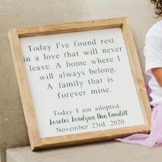Adoption Day, November 23, Letter Board, Lettering, Drawing Letters, Brush Lettering