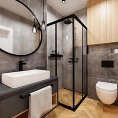 Advice, tricks, as well as guide for getting the greatest result and also ensuring the optimum use of Restroom Remodel Ideas Best Bathroom Designs, Bathroom Design Small, Bathroom Interior Design, Bad Inspiration, Bathroom Inspiration, Home Decor Inspiration, Scandinavian Style Home, Scandinavian Bathroom, Rustic Bathrooms