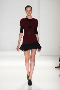 Défile Victoria Beckham Prêt-à-porter Printemps-été 2014 - Look 24