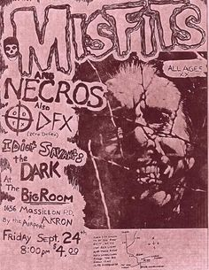 Misfits - Necros - Idiot Savants - Dark, The Rock Posters, Music Posters, Band Posters, Barcode Art, Misfits Band, Danzig Misfits, Punk Poster, Soul Punk, Vintage Concert Posters