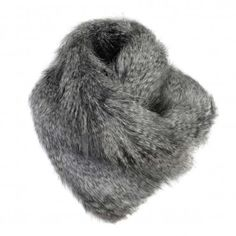 Helen Moore Mountain Wolf Asymetric Scarf