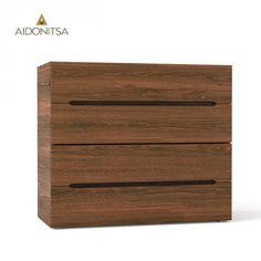 Συρταριέρα 90x41x76.7 με 4 συρτάρια. Από την Alphab2b.gr Bedroom Bed Design, Dresser, Drawers, Furniture, Home Decor, Products, Powder Room, Decoration Home, Room Decor
