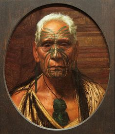 Charles Frederick Goldie -Artist - Page Blackie Gallery Maori Face Tattoo, Ta Moko Tattoo, Maori Tattoos, Polynesian People, Polynesian Art, Maori People, New Zealand Art, Maori Tattoo Designs, Nz Art