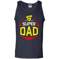 Funny Father's Day Super Dad T-shirt