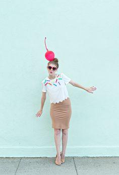 DIY Ice Cream Cone Halloween Costume | Studio DIY®