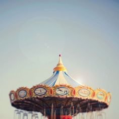 Carrousel: I lived in Spokane, WA where the world's fair was and they still run the carrousel. love it~