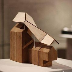 Deconstruction. An Architectural Model by Tania Fitri http://ift.tt/1NJc4lu