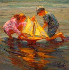 Summer Sails - Copyright  Diane Leonard, http://www.dianeleonard.com