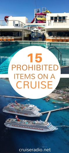 Check out our list of 15 items that are prohibited from most cruise ships, and why they probably aren't allowed.