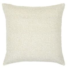 "Braid Pillow 20"" - Ivory from Z Gallerie  Simple and cozy"