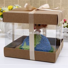Check out this product on Alibaba.com App:Fashionable food grade paper cake box with clear pvc window https://m.alibaba.com/MFb2Uf