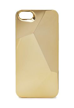 Metallic Angular Phone Case   FOREVER21