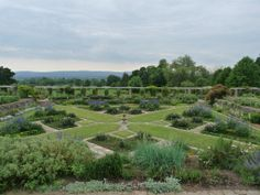 Hestercombe, a Somerset garden - this is obviously a different kind of planting, but hints at the effect I would like to achieve, of different levels but never too high to see the view beyond.