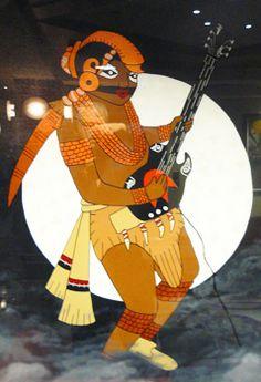 Painting by Sam Watts-Scott (Tsalagi) at the Hard Rock Hotel and Casino in Tulsa, part of Cherokee Entertainment Inc.