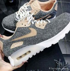 Adidas Women Shoes Sneakers women - Nike Air Max 90 premium grey (©__maryb__) - We reveal the news in sneakers for spring summer 2017 Adidas Shoes Women, Sneakers Women, Women Nike, Shoes Sneakers, Women's Shoes, Casual Sneakers, Sneakers Sale, Roshe Shoes, Blue Shoes