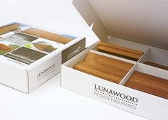 Package for Lunawood. Design by Karell Design