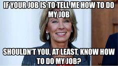 Said all the teachers across America...